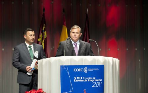 XXII Premios de Excelencia Empresarial 2011_Sector Servicios_COEC Cartagena