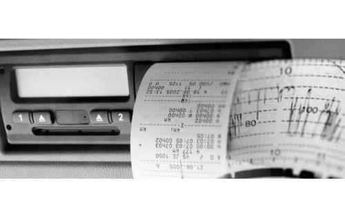 Entradas manuales en tacógrafo digital