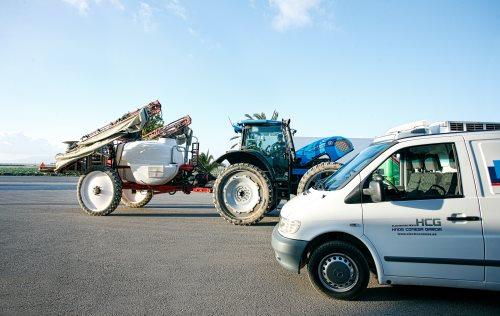 Maquinaria agrícola y O.P.